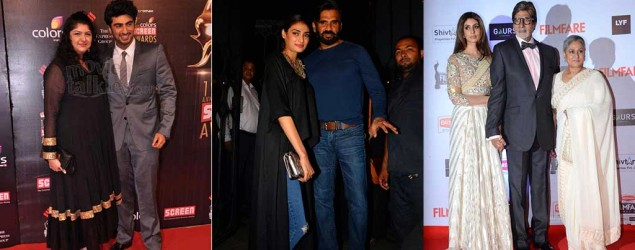 It's a family affair for Bollywood stars on the red carpet