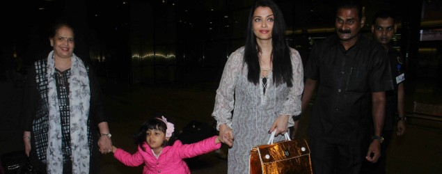 Aishwarya's mother gets injured at airport