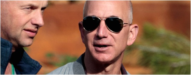 Amazon CEO becomes 3rd-richest man in the world
