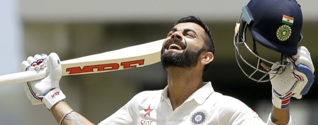 Kohli breaks a few records as India take command