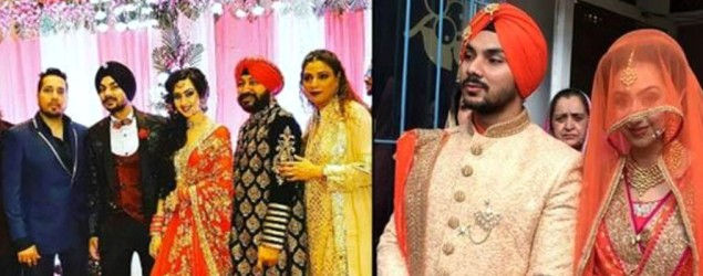 Famous singer's son ties knot