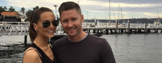 Kyly and Michael Clarke. Source: Instagram