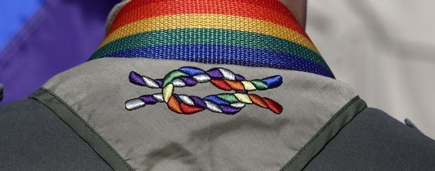Boy Scouts end blanket ban on gay adult leaders. (AP)