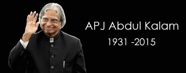 Former President A P J Abdul Kalam no more