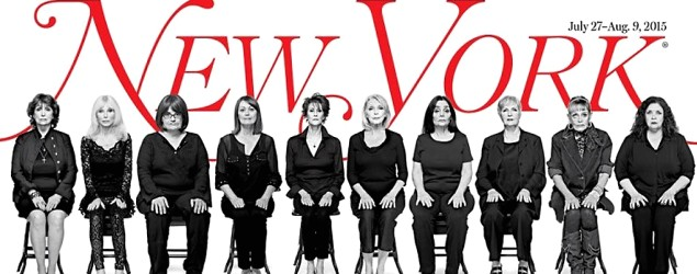 Striking image, story give Cosby accusers voices (New York Magazine)