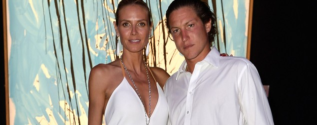 Heidi Klum and Vito Schnabel (French Select)