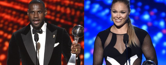 LeBron dishes on chances against Ronda Rousey