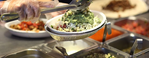 Healthiest eats at Mexican fast-food chains
