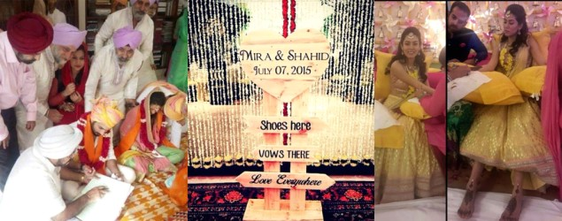 Here's Shahid and Mira's complete wedding album