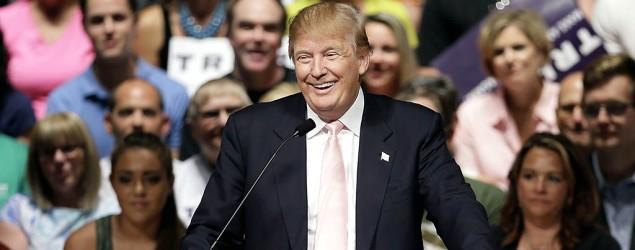 Donald Trump amuses us to death. (AP)