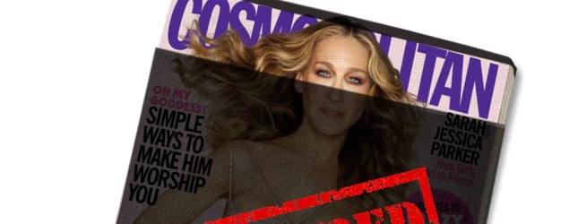 Retailers censor racy Cosmopolitan cover. (Cosmopolitan, August 2015)
