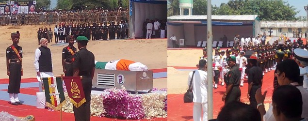 LIVE: APJ Abdul Kalam's final journey begins