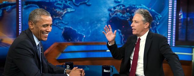 Jon Stewart reveals a real secret meeting. (Yahoo TV)