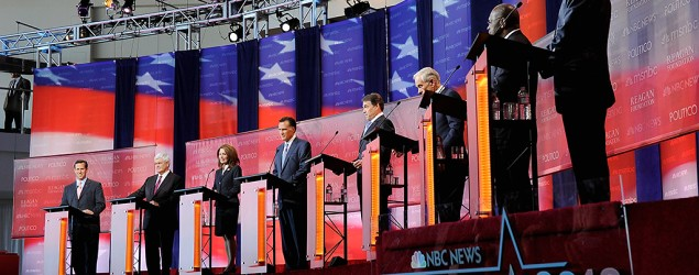 Fox News and CNN have come up with strategies for condensing the number of participants in the debate. (Getty Images)
