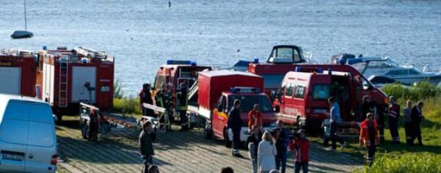 Toter aus der Elbe geborgen Bild: dpa
