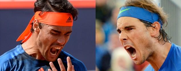 Fognini y Nadal gritando (AP/Sports365)