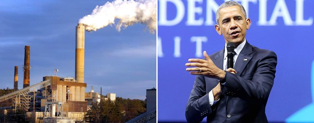 President Obama gets tough on emissions. (AP Photo/Getty Images)