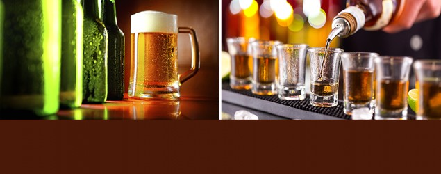 Whiskey and beer (Getty Images/Thinkstock)