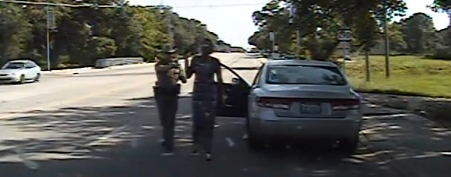 Sandra Bland's family files lawsuit against trooper. (Texas Department of Public Safety/AP)