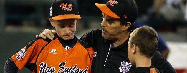 Little League coach delivers touching speech