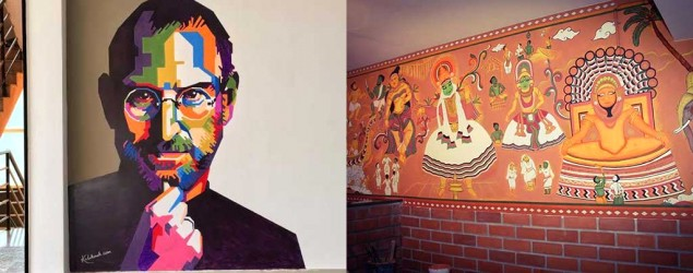 12 cool pieces of artwork seen on the walls