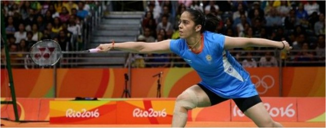 Sindhu can't stop smiling, while Saina's having a tough time