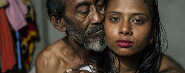 Una prostituta, con uno de sus clientes (Sandra Hoyn)