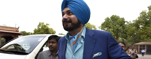 Has the ball slipped from Sidhu's hands?