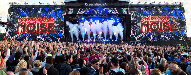 Scenes from the 2014 Creamfields festival. (Howard Hill)