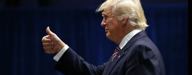 Trump to meet with black and Latino activists. (AP)