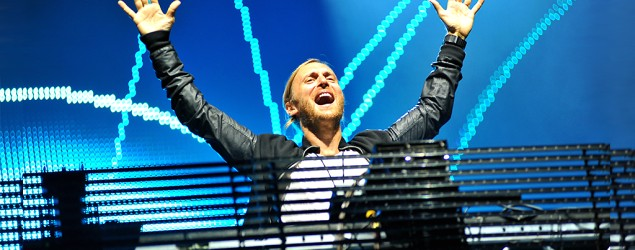 David Guetta performs Monday in Ibiza, Spain. (Brandon/Redferns/Getty Images)
