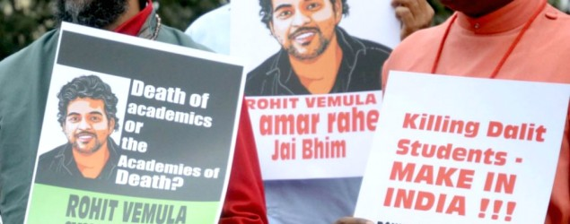 Rohith Vemula was not a Dalit, says probe panel