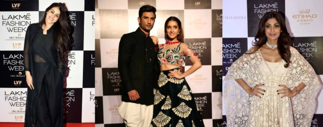 Celebrity Spotting: Day 1 At Lakme Fashion Week WF 2016