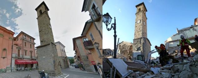 Image of utter devastation wrought by earthquake