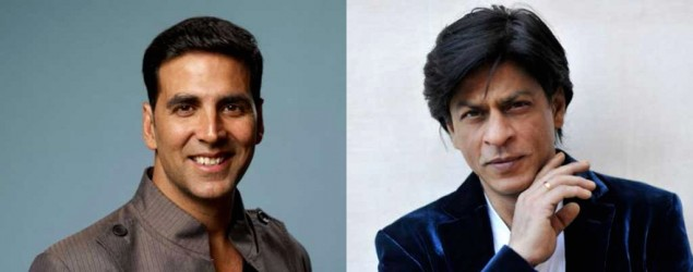 SRK and Akshay make it on the list of highest paid actors