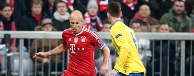 Robben gegen Arsenal: Getty Images
