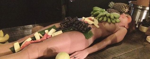 Fruit model. Photo: Twitter