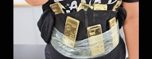黃金纏腰走私 港女羅湖被捕