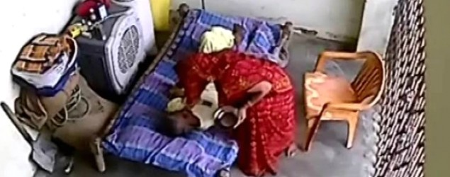 Woman assaults her paralysed mother-in-law
