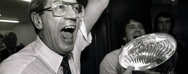 Legendary NHL coach Al Arbour dies. (AP)