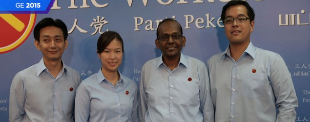 Four new Workers' Party candidates