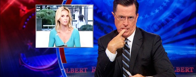 "Colbert skewers ISIL coverage, Obama critiques. (""The Colbert Report"" on Yahoo)"