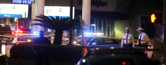 Sheriff's deputy fatally shot in Houston while pumping gas. (AP)