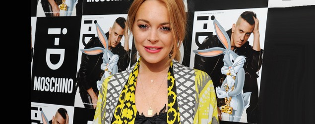 Lindsay Lohan. Photo: Getty Images.