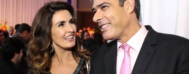 Foto: Fátima Bernardes e William Bonner (Globo)