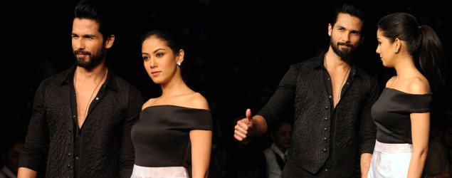 Shahid and Mira Kapoor steal Masaba's show @LFW 2015