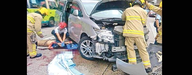 19歲男越三線捱撞捲車底亡