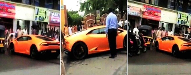 On cam: BJP Mla's wife smashes his 5 cr worth gift on road