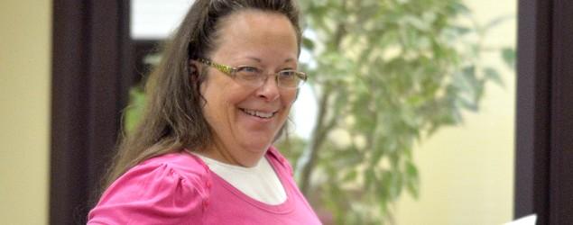 Kentucky clerk denies marriage licenses again. (AP)
