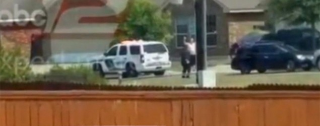 Texas sheriff fumes over release of video depicting a man being shot by police. (ABC News)